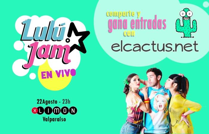 Flyer concurso Lulú Jam