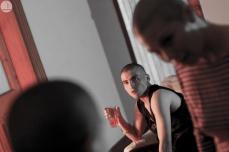 """""""Cuerpos en Oxímoron"""", Compañía Tinta Negra // Foto: Beatriz Arce"""