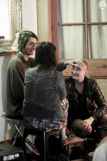 """Conversatario tras """"Cuerpos en Oxímoron"""" // Foto: Beatriz Arce"""