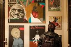 Exhibicionistas en Bar Radicales, Santiago [Foto por Beatriz Arce]