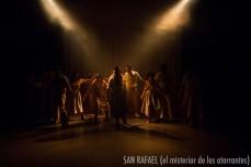 """""""SAN RAFAEL (el misterio de los atorrantes)"""" La Cancha Teatro de Cristian Figueroa, dirección Juan Carlos Maldonado."""