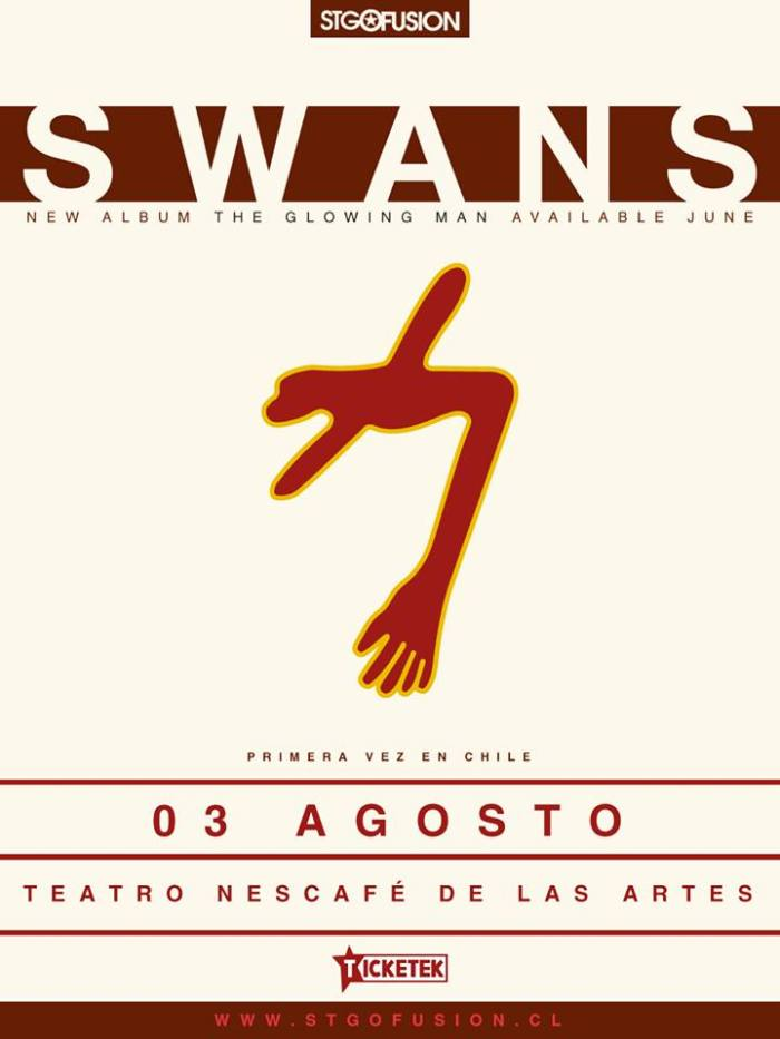 swans chile agosto 2016